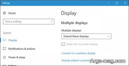 اتصال چند نمایشگر به کامپیوتر