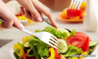 تغذیه مناسب در دوره بلوغ