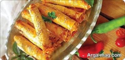 منوی غذای ترکیه ای