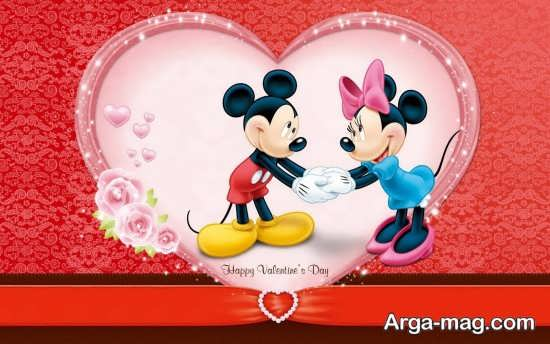 تصویر نوشته عاشقانه تبریک ولنتاین