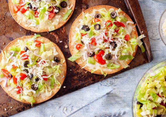 طرز تهیه پیتزای سالاد