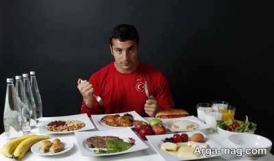 تغذیه پیش از تمرین