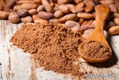 بررسی خواص پودر کاکائو