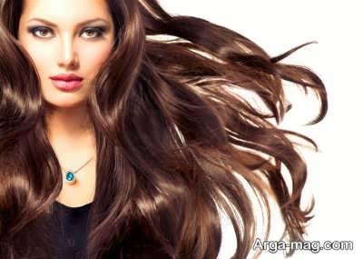 موهای اراسته در کنار زیبایی پوست