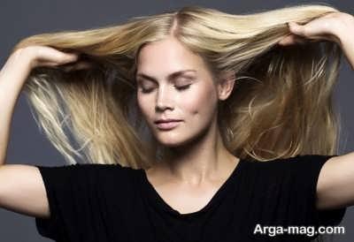 ترمیم کردن موی اسیب دیده