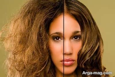 ترمیم کردن موهای سوخته