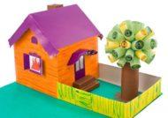 ماکت خانه با مقوا