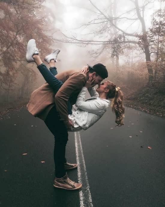 عکس زیبا و شاد عاشقانه