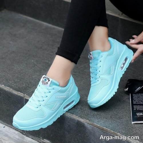 کفش آبی دخترانه