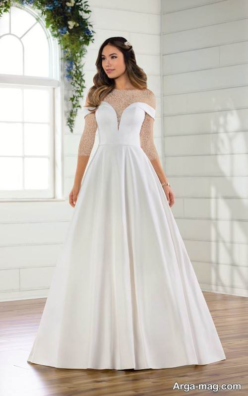 ۶۷ مدل لباس عروس ساده و شیک برای عروس خانم های باوقار
