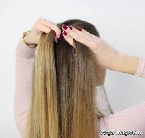 اضافه کردن مو به قسمت های بافته شده