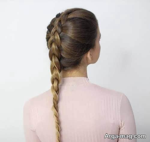 بافت موی ساده هلندی