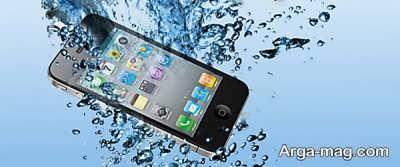 خیس شدن موبایل