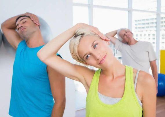 تاثیرات تقویت عضلات گردن