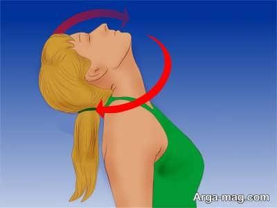 تمرینات حرکتی و تقویت عضلات گردن