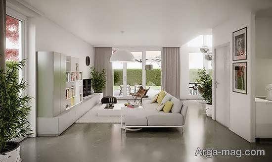زیباسازی اتاق نشیمن با انواع طرح های متفاوت و خاص