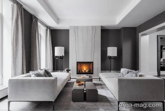 ایده های زیبا و شیک دیزاین اتاق نشیمن