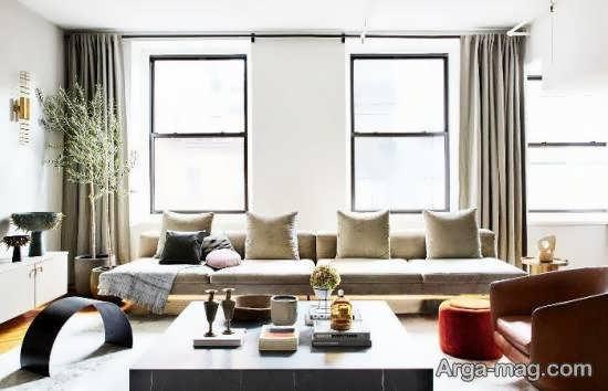 ایده هایی شیک و جدید از مدل طراحی اتاق نشیمن