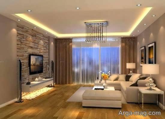 مجموعه ی لوکس و مدرن طراحی اتاق نشیمن