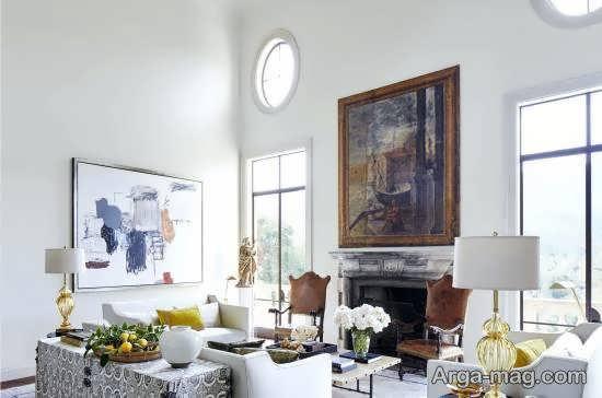 نمونه هایی زیبا و امروزی از دیزاین اتاق نشیمن