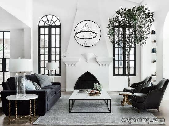 الگوهایی بینظیر و نفیس از دیزاین اتاق نشیمن