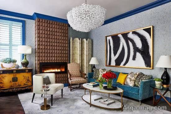 ایده هایی بینظیر و متفاوت از دیزاین اتاق نشیمن به سبک خاص