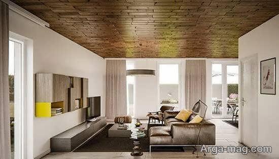 انواع ایده های زیبا و لوکس دیزاین اتاق نشیمن