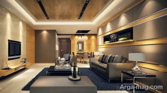 الگوهایی زیبا و شیک از دکوراسیون اتاق نشیمن بخش مهم منزل