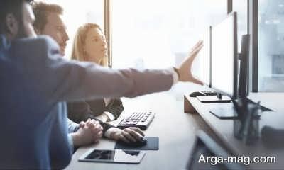 مسئولیت های افراد در کار های تیمی کاهش می یابد