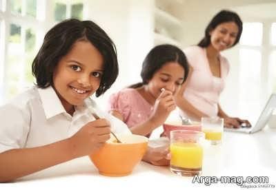 نکات مهم در رابطه با خوردن صبحانه