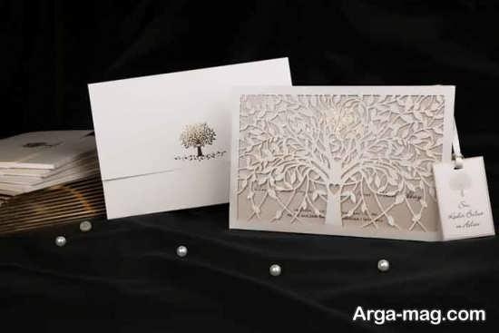کارت عروسی با طرح خلاقانه