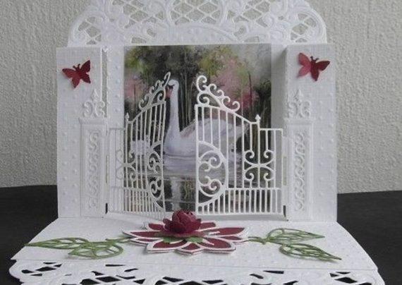 کارت عروسی سه بعدی