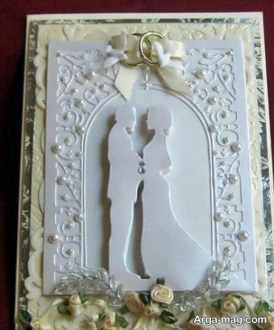 کارت عروسی با طرح جالب