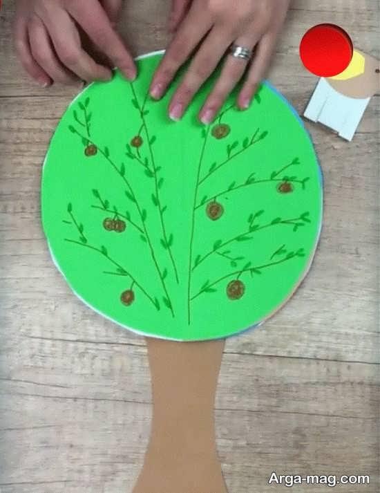 کاردستی درخت بچگانه
