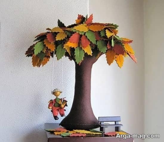 کاردستی درخت برای کودکان