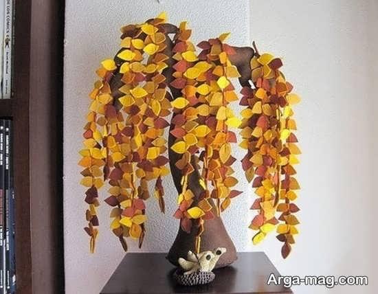 کاردستی درخت زیبا و جذاب