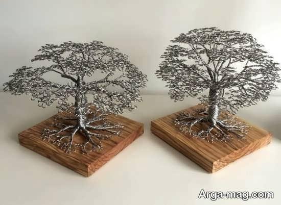 کاردستی زیبای درخت