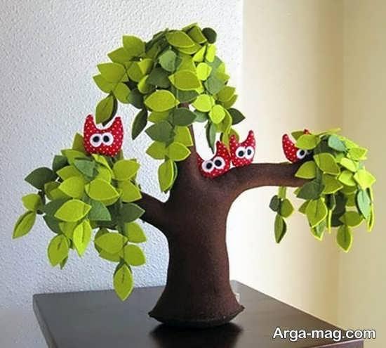 کاردستی روز درختکاری +عکس