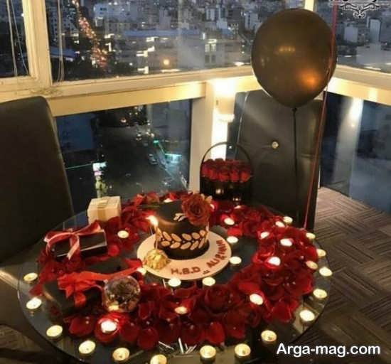 تزیین میز ولنتاین