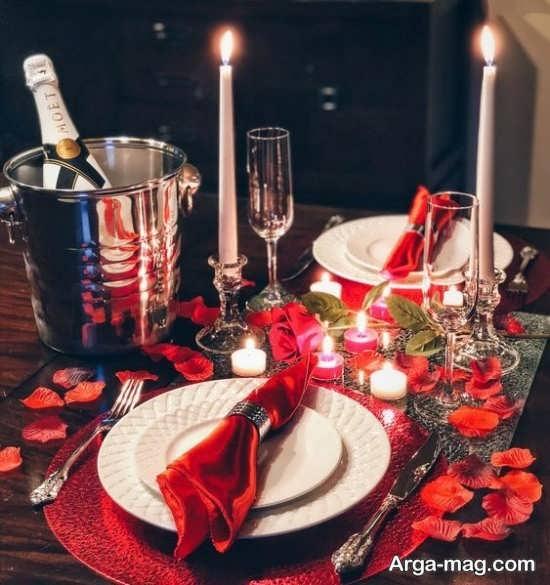 دیزاین میز ولنتاین