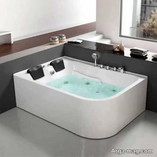 نمونه هایی جالب و جذاب از وان جکوزی حمام