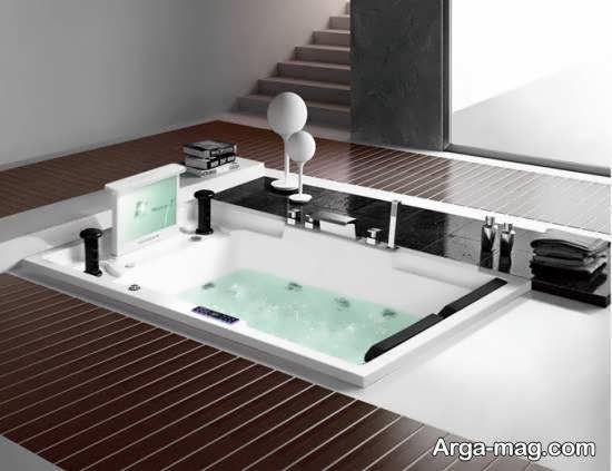 مجموعه ای بینظیر از طرح های وان جکوزی برای حمام
