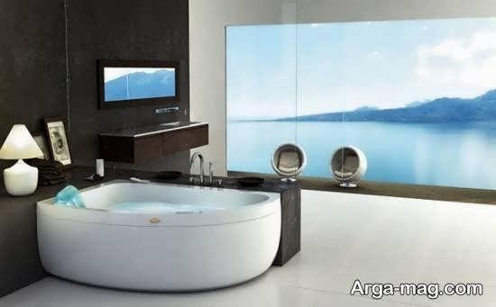 انواع مدل وان جکوزی زیبا و خیره کننده برای حمام