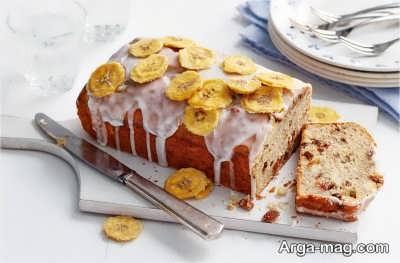 کیک وگان با طعم موز