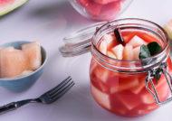 طرز تهیه ترشی هندوانه