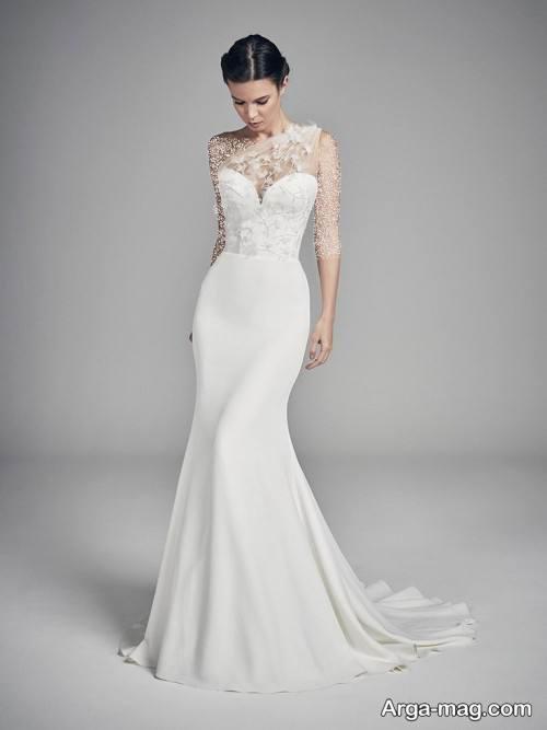 لباس عروس ساده و متفاوت