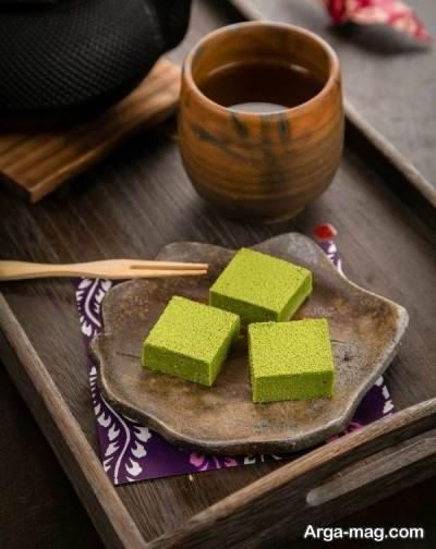 روش تهیه شکلات چای سبز