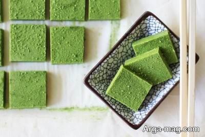 دستور تهیه شکلات چای سبز