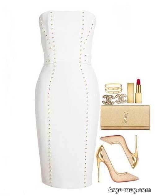 مدل ست لباس زنانه سفید