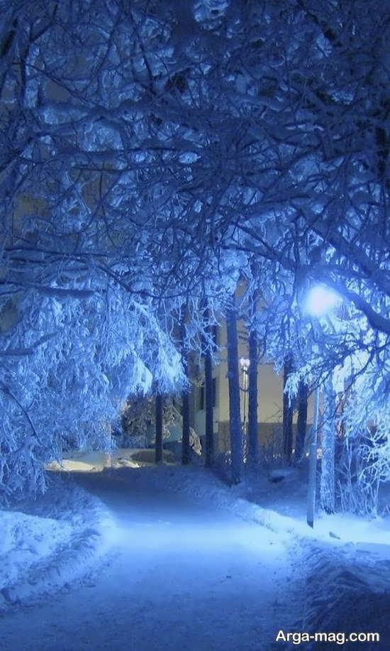 مجموعه جدید منظره زمستانی